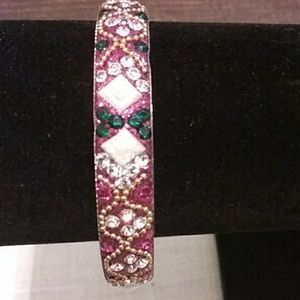 Gorgeous beaded bracelet.